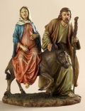 La Posada Sculpture Flight into Egypt