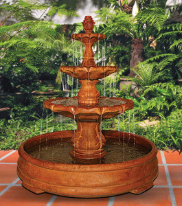 Garden Fountains by Size Tall Fountain by Height