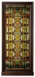 Oak Park Skylight by Frank Lloyd Wright Art Glass Replica