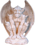 Fierce Gargoyle Guardian Statue