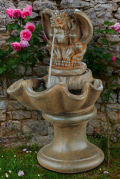 Gargoyle Cement Garden Fountain