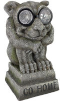 Gargoyle Solar Garden Statue Lighted Eyes