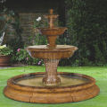 Grande Barrington Fountain In Toscana Pool