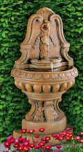 Murabella Grande Flat Wall Fountain