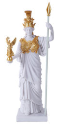 Athena Pallas Sculpture Greek Goddess
