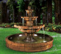 Grenoble Three Tier In Pool Garden Fountain