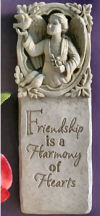 Friendship Harmony Of Hearts Wall Plaque