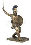 Hector Statue with Sword and Shield