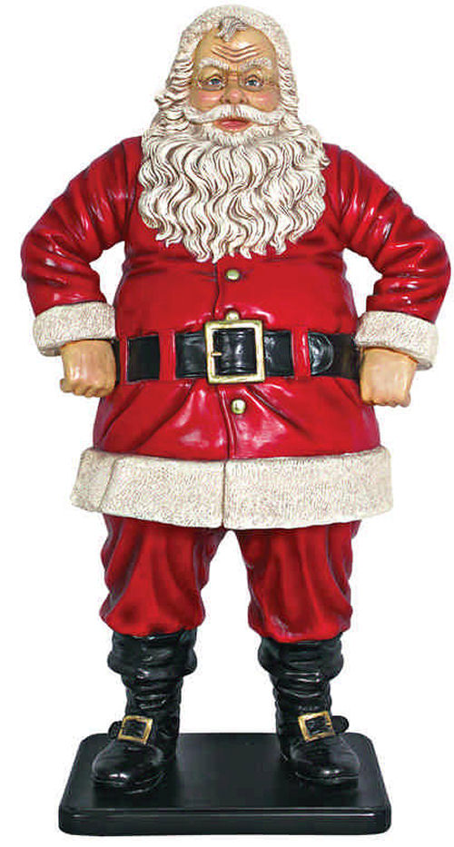 Christmas Jolly Santa Claus Life Size Statue Large