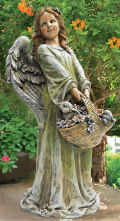 Flower Angel Joy Garden Statue