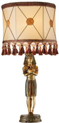 King Tutankhamen Sculptural Table Lamp