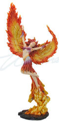 Lady Phoenix Fairy Sculpture Large