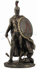 Leonidas Spartan Greek Warrior Sculpture