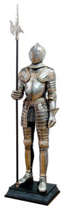 Life-Size Knight Suit of Armor Statue Right