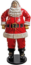 Christmas Jolly Santa Claus Life-Size Statue