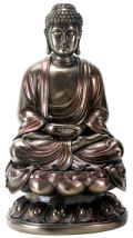 Meditation Buddha Statue on Lotus Flower