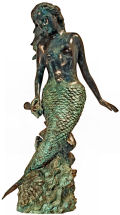 Mermaid Goddess of the Sea Spouting Water Feature Statue