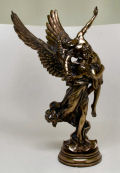 Museum Reproduction Winged Fame Gloria Victis Statue