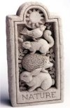Nature Stone Sculpture Or Wall Hanging