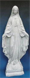 Our Lady Of Grace Statue Granite 24