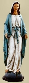 Our Lady of Grace Life-Size Statue Indoors Use
