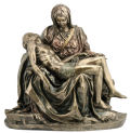 Pieta Large Replica by Michelangelo Statue