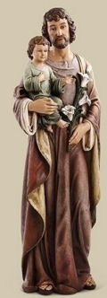 Saint Joseph with Child Life-Size Statue Indoors Use