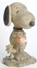 Snoopy Garden Solar Light Statue