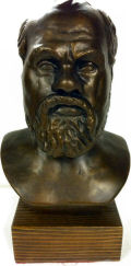 Socrates Bust 10.75
