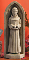 Saint Francis Wall Sculpture or Freestanding Statue