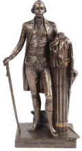 George Washington Standing Statue Bronze