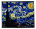 Starry Night by Vincent van Gogh Art Glass