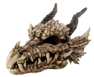 Dragon Skull Large Statue 27