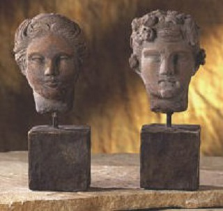 Romulus And Rhea Bust 9
