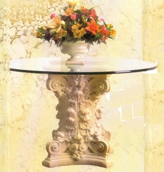 Corinthian Dining Table Base