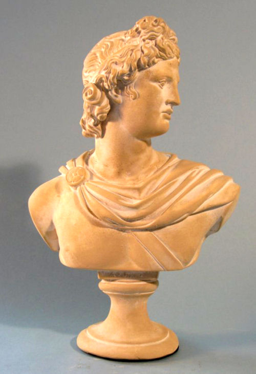 Apollo Sculptural Bust 14