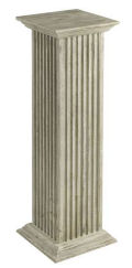 Square Fluted Pedestal Tall