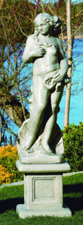 Venus Of The Sea Lifesize Garden Statue With Pedestal