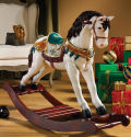Victorian Carousel Pony Rocking Horse Statue