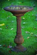 Victorian Fern Leaf Bird Bath 34