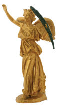 Nike the Greek goddess of Victory Statue