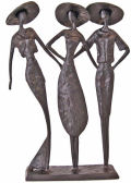 Vogue Ladies Trio Contemporary Sculpture