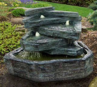 Waterfall Fountain and Garden Spill Fountains Collection