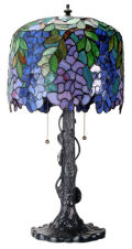 Wisteria Lamp Replica by Louis Comfort Tiffany