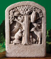 Animals Woodland Gathering Wall Plaque Sculpture