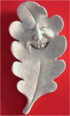 Woody Parks Greenman Plaque Sculpture By Carruth