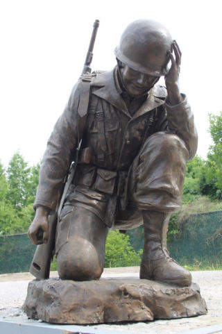 Fallen Soldier War Memorial Sculpture