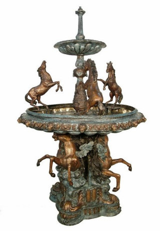 Bronze & Brass Fountain /  Water Features