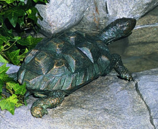 Turtle Medium Piped Water Feature
