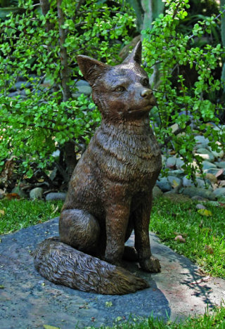 Fox Sculpture Bronze 21